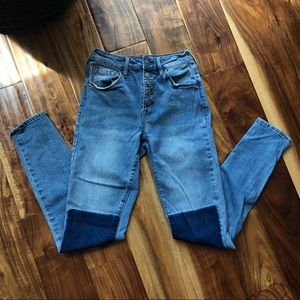 PacSun Highrise skinny jeans
